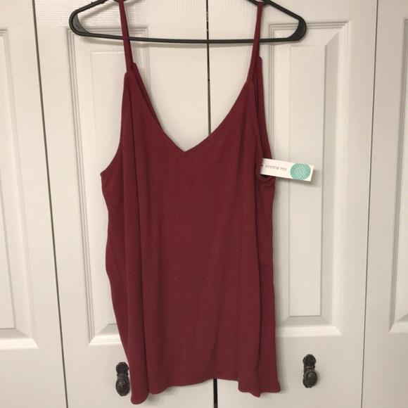 b55e5bdf4e371 NWT Jella C for Stitch Fix camisole. Size XL